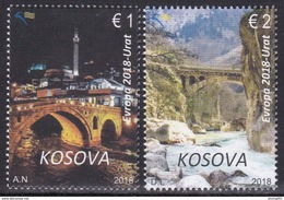KOS 2018-420-1 EUROPA CEPT, KOSOVO, 1 X 2v, MNH - Kosovo