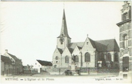 Meise/Meysse. Eglise Et Place. - Meise