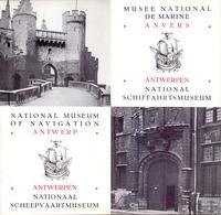 Brochure Dépliant Faltblatt Folder - Toerisme Tourisme - Antwerpen Scheepvaartmuseum - Musée De Marine - Dépliants Touristiques