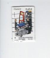 Bicentenaire De La Brigade Des Sapeurs-pompiers 4584 Oblitéré 2011 - Francia
