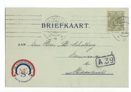 NV Nijmeegsche Electrische Schoenen Fabriek L Jordens 1919 X Nijmegen - Marcophilie