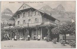Brunnen Hotel U Restaurant Bahnof Mit Den Mythen                    Gd17 - UR Uri