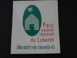 Logo Adhésif Autocollant Parc Naturel Régional Luberon Borie Aufkleber Sticker Adesivo Adhesivo - Obj. 'Remember Of'