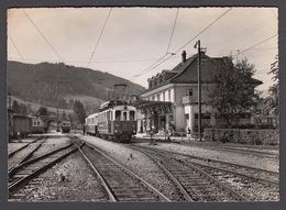 CPA  Suisse, APPENZELL, Bahnhof, Gare - Train -  Carte Photo. - AI Appenzell Rhodes-Intérieures