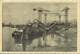 TEMSE :  Zicht Op De Scheepsbouwwerven   (   15 X 10.5 Cm )   Shipbuilding Yards   -  Chantiers Navals - Temse