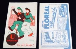 Lessive Violette Floréal Image Devinette Alphabet Lettre  U Universitaire étudiant  Illustrateur Gougeon Imprimerie Sir - Unclassified