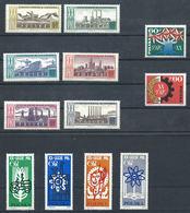 Pologne N°1360/69 + 1330/31** (MNH) 1964 - 20eme Anniversaire De La République - 1944-.... République