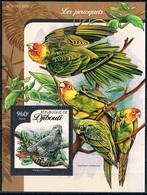 Bloc Sheet Oiseaux Perroquets Birds Parrots Neuf  MNH **  Djibouti 2016 - Parrots