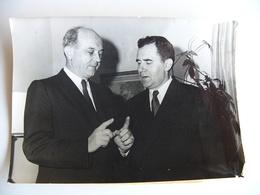 Photo De Presse AFP 1961 Guerre Froide Crise De Berlin Entretien GROMYKO URSS Et DEAN RUSK USA - Célébrités