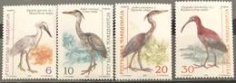 Macedonia, 2000, Mi: 204/07 (MNH) - Picotenazas & Aves Zancudas