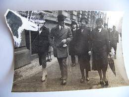 Photo De Presse 1932 VON PAPEN Et Sa Famille  Reich Allemagne Deutschland - Célébrités