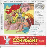 BUVARD  Biscottes CORVISART    DIOGENE - Alimentaire