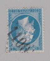 N° 22 GC 1100 Condat-s-Vezere ( Dept 14 ) Cantal - Marcophilie (Timbres Détachés)