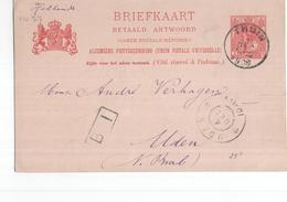 Uden Grootrond - 1908 Geuzendam - Postal History