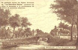 Bruxelles  -  Le Pont De Laeken - Brussels (City)
