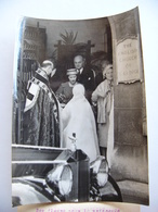 Photo De Presse 1959 REINE MERE ELISABETH Et La PRINCESSE MARGARET Great Britain église St Georges à PARIS - Célébrités