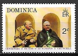 DOMINIQUE   -   Sir Winston Churchill  -    Neuf *.  Roosevelt - Sir Winston Churchill