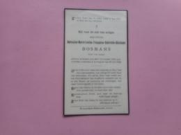 D.P..GERMAINE M.L.F.G.G.BOSMANS °KESSEL-LOO 7-11-1912+LOVENJOUL 29-6-1922 - Religion & Esotérisme