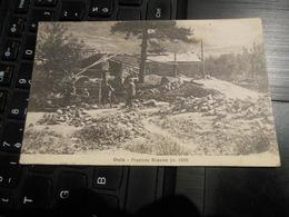 OULX FRAZIONE BEAUMONT M.1100 8 JAN 1918 3° REGGIMENTO ALPINI DISTACCAMENTO DA OULX ECRITE EN FRANCAIS - Italia
