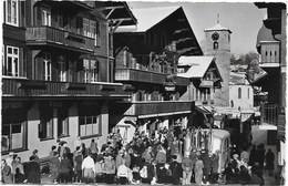 Adelboden NA4: Dorfstrasse. Post, Hotel Bären U. Kirche - BE Berne