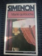 SIMENON: Marie Qui Louche / PRESSES DE LA CITE: 1976 - Non Classés