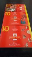 3 Carnets Royal Mail - Carnets