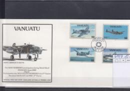 Vanuatu Michel Cat.No. FDC 914/917   WWII - Vanuatu (1980-...)