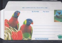 Vanuatu Michel Cat.No.aerogramme 80c Birds Unused - Vanuatu (1980-...)