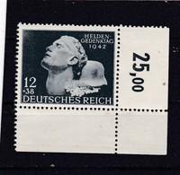 Deutsches Reich, Nr. 812** (T 15762a) - Ungebraucht