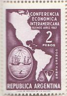 PIA - ARGENTINA - 1957 : Conferenza Economica Interamericana A Buenos Aires  - (Yv P.A. 46 ) - Posta Aerea