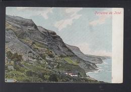 Tarjeta Carretera De Icod 1907 - Tenerife