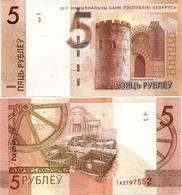 BELARUS      5 Rublej       P-37[c]       2019        UNC - Wit-Rusland