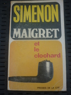 SIMENON: Maigret Et Le Clochard / PRESSES DE LA CITE: 1973 - Books, Magazines, Comics