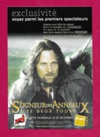 """CPM.   Cart'Com.   Film """"Le Seigneur Des Anneaux.   Les Deux Tours"""".   Cinéma.   Postcard. - Posters On Cards"""