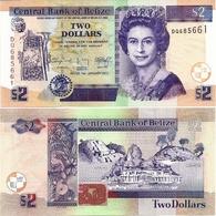 BELIZE      2 Dollars        P-66[f]       1.1.2017       UNC - Belize