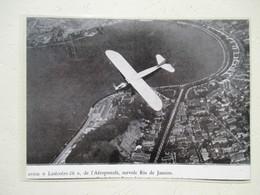 Survol De Rio De Janeiro Par Un Avion Latécoère 28 De L'Aéropostale   - Coupure De Presse De 1930 - Other