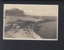 Cartolina Palermo Molo 1928 - Palermo