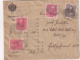 AUTRICHE 1916 LETTRE DE GROSS -AUPA - 1850-1918 Empire
