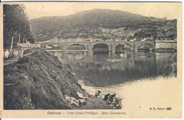 CAHORS - Pont Louis Philippe - Quai Cavaignac - Cahors