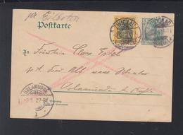 Dt. Reich Expres-PK 1902 Zwickau Nach Orlamunde - Deutschland