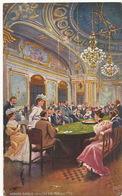 Art Card Casino De Monte Carlo Roulette . Edit Tuck Oilette. Croupier . Timbrée Monaco - Postcards