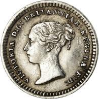 Monnaie, Grande-Bretagne, Victoria, 1-1/2 Pence, 1862, Londres, TB+, Argent - 1816-1901 : Frappes XIX° S.