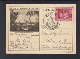 Dt. Reich FDC-PK 1941 Sonderstempel Berlin - Briefe U. Dokumente