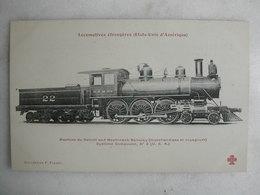 FERROVIAIRE - Locomotive - Coll. F. Fleury - USA - Machine Du Détroit And Mackinmack Railway - Système Compound - Trains