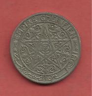 50 Centimes , MAROC , EMPIRE CHERIFIEN  , Nickel , 1921 , N° KM # 35.1 - Colonies