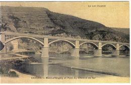 CAHORS -  Mont D'Angely Et Pont Du Chemin De Fer - Cahors