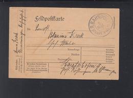 Bayern Feldpost-PK Bahnpost Ulm 1917 - Bayern