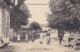 CPA - La Lorraine Pittoresque - Jezainville - (54) Meurthe Et Moselle - Place Des Jeux - France