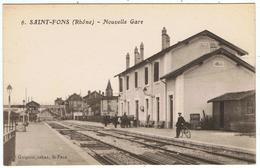 Saint-Fons / Nouvelle Gare / Ed. Guignon - France