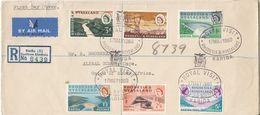 Rhodesia & Nyasaland - Kariba Wasserkraftwerk Lupo-Einschreibebrief/FDC SST 1960 - Malawi (1964-...)